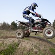 Stock Photo: Motocross Competitions.