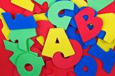 Renkli harfler — Stok fotoğraf