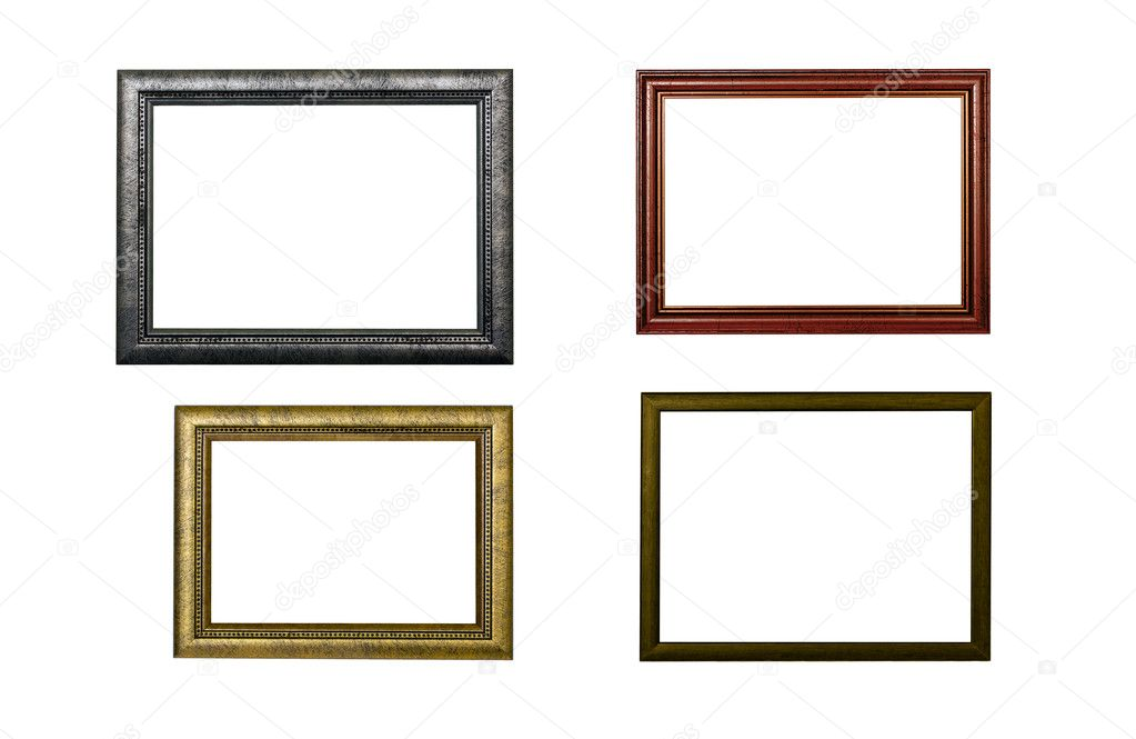 Four frames on white background — Stock Photo #10523404