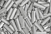 Background: pile of metal details — Stock Photo