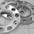 Wheels disk protection - ストック写真