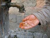 Hands washing — Stock Photo