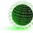 News green globe — Stock Photo