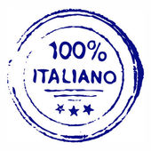 Hundred percent italian — Stock Photo