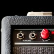 Guitar amplifier - detail — Stock Photo