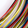 Stock Photo: Colored copper wire