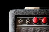 Amplificateur de guitare - détail — Photo