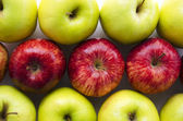Apples background — Stock fotografie