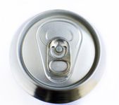 Top of a soda can — Stock Photo