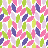 Abstract seamless pattern of leaf — Stock Vector