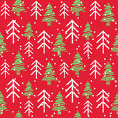 Seamless Christmas Pattern — Stock Vector