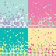 Vector abstract background pattern - Stock Vector