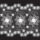 Lace vector — Stock Vector