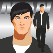 Homem de vetor — Vetorial Stock