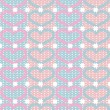 Royalty-Free Stock Imagen vectorial: Knitting pattern vector