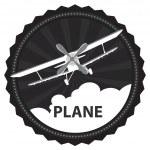 Vector plane — Stock Vector #9266849