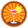 Vector cocktail — Stock Vector