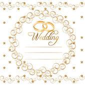 Vector Wedding Cards — Stock Vector