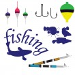 Fishing — Stock Vector #9370895