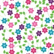 Royalty-Free Stock Vector Image: Seamless floral pattern