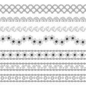 Bezešvé krajky pattern — Stock vektor