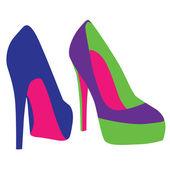 Vektor skor — Stockvektor