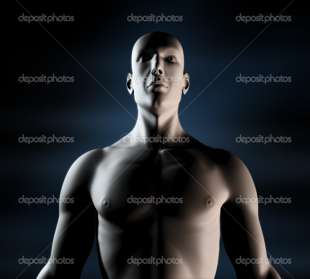 Illustration 3D of Human 3D  Stock Photo #8093910