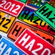 Automobile Plates - Stock Photo