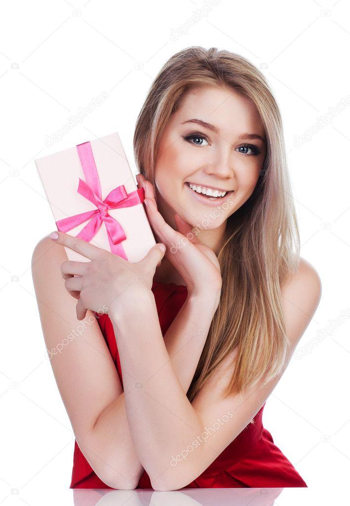 Подарок эмоция женщине 100