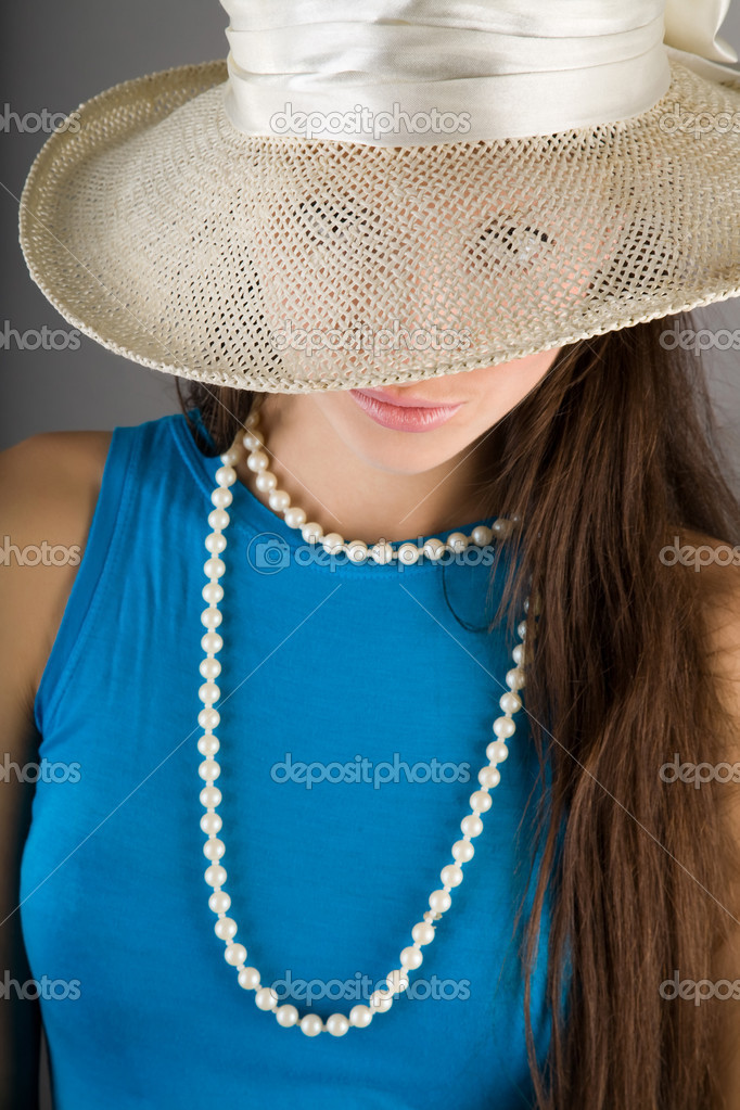 Beautiful woman portrait. Fashion art photo  Stock Photo #8889303