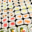 Japanese sushi , traditional japanese food - Stockfoto