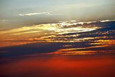 Beautiful Vibrant Sunset Sky — Stock Photo