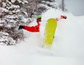 сноубордист — Стоковое фото