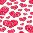 Stock Photo: Heart Background Love