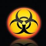 Hazard Warning Icon — Stock Vector #9166911