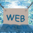 Stock Photo: WEB (background)