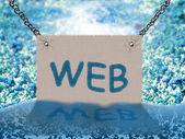 WEB (background) — Foto Stock