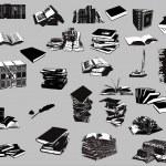 Books (vector) — Stock Vector #8228047