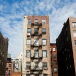 Edificios de Manhattan — Stock Photo