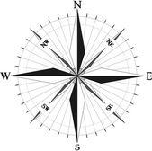 Compass symbol — Stock Vector