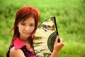 Portrait of a beautiful girl — Stock Photo
