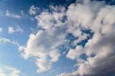 небесный фон — Стоковое фото
