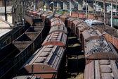 Industrial train — Stock Photo