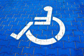 Wheelchair Icon — Stock Photo