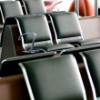 Airport departure lounge — Stock Photo