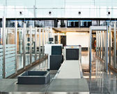 Security control at the airport — Stock Photo