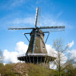 Traditional dutch windmill — Foto de Stock