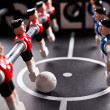 Stock Photo: Table soccer game