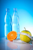 Fitness food for weight lose — Stock Photo