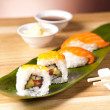 Sushi lunch selection — Stock Photo